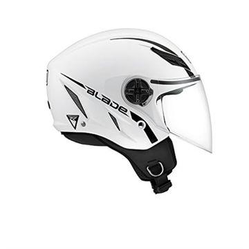 Resim Agv Blade Yarım Motosiklet Kaskı Parlak Beyaz