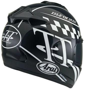 Resim Arai Chaser-X Classic TT Kapalı Motosiklet Kaskı Siyah
