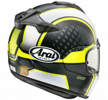 Resim Arai Chaser-X Take Off Kapalı Motosiklet Kaskı Sarı