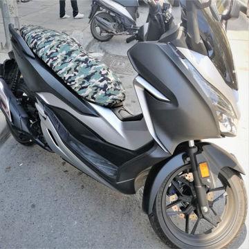 Resim Windtech Maxi Scooter Sele Kılıfı Kamuflaj Haki Yeşil