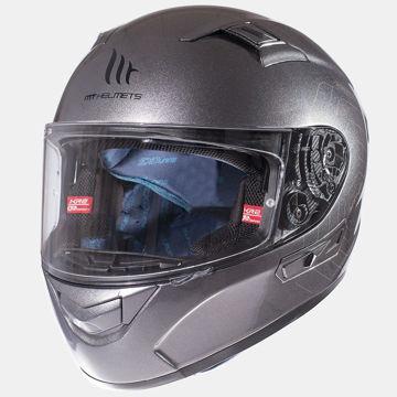 Resim MT Kask KRE SV Kapalı Motosiklet Kaskı Titanyum