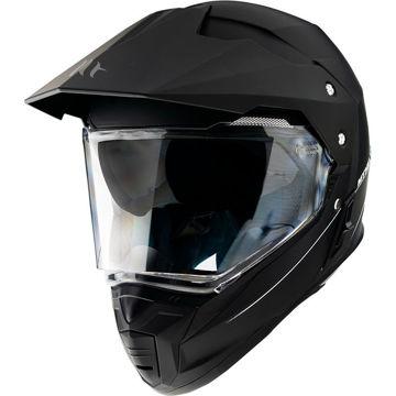 Resim MT Kask Synchrony Duosport SV Tourer Motosiklet Kaskı Mat Siyah