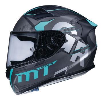 Resim MT Kask KRE Snake Karbon Gabri A8 Kapalı Motosiklet Kaskı