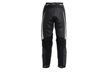 Resim Revit Gt Deri Bayan Motosiklet Pantolonu Siyah