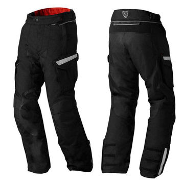 Resim Revit Sand2 Motosiklet Pantolonu Siyah