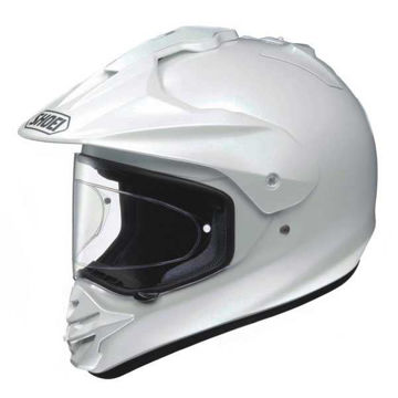 Resim Shoei Kask -  Hornet Ds Beyaz Motosiklet Kaskı