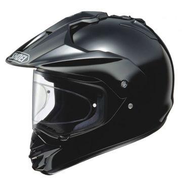 Resim Shoei Kask -  Hornet Ds Siyah Motosiklet Kaskı