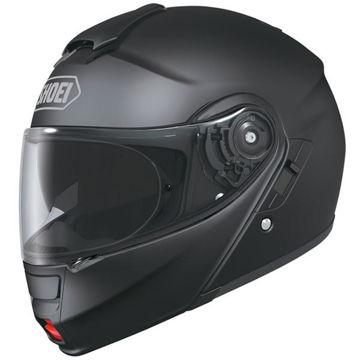 Resim Shoei Kask -  Neotec Mat Siyah Motosiklet Kaskı