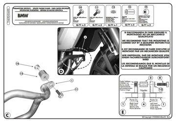 Resim KAPPA BMW F650GS - F700GS - F800GS (08-14) KORUMA DEMİRİ KN690