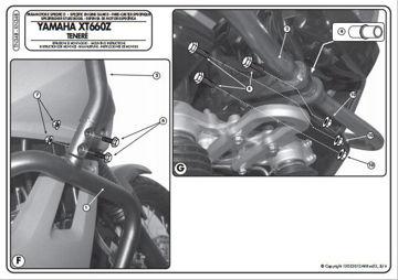 Resim KAPPA YAMAHA XT 660Z TENERE (08-14) KORUMA DEMİRİ KN348