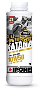 Resim IPONE Full Power Katana / (10W50) 4T Esterli %100 Sentetik Performans Motor Yağı (1L)