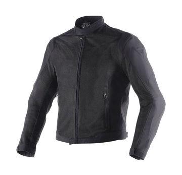 Resim Dainese Air Flux D1 Tex Yazlık Motosiklet Ceketi Siyah
