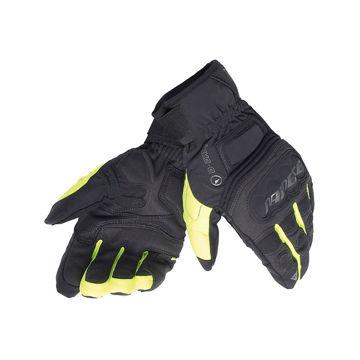 Resim Dainese Guanto Clutch Evo D-Dry Motosiklet Eldiveni Sarı Siyah