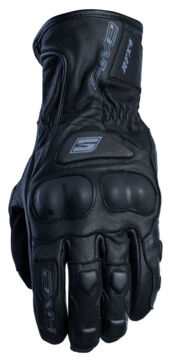 Resim Five Gloves RFX4 WP Mevsimlik Deri Motosiklet Eldiveni Siyah