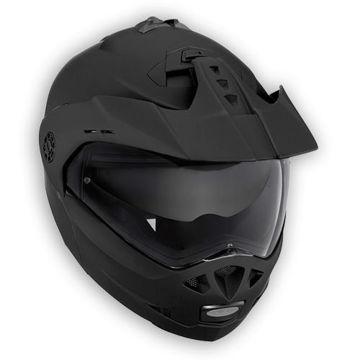 Resim Caberg Tourmax Çeneden Açılır Enduro Kaskı Mat Siyah