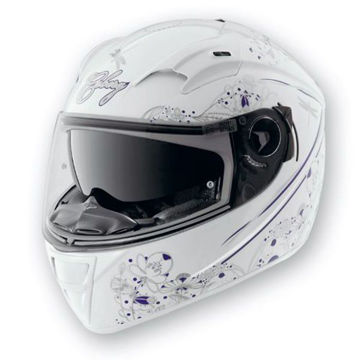 Resim Caberg Vox Romantica Kapalı Motosiklet Kaskı Beyaz