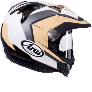 Resim Arai Tour X4 Flare Sand Kapalı Motosiklet Kaskı Kum Bej