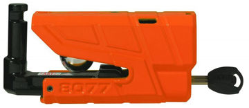 Resim Abus 8077 Granit Detecto X-Plus Alarmlı Motosiklet Disk Kilidi Turuncu