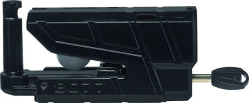 Resim Abus 8077 Granit Detecto X-Plus Alarmlı Motosiklet Disk Kilidi Siyah