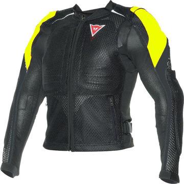 Resim Dainese Sport Guard Fileli Gövde Koruması Siyah Sarı