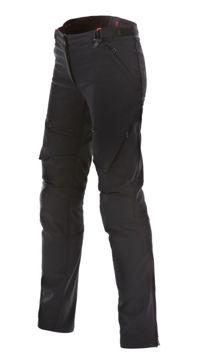 Resim Dainese New Drake Air Tex Bayan Motosiklet Pantolonu Siyah