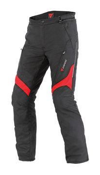 Resim Dainese Tempest D-Dry Motosiklet Pantolonu Siyah Kırmızı