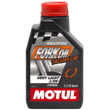 Resim Motul Fork Oil FL Serisi 2.5W 1 Litre Ful Sentetik Amortisör Yağı
