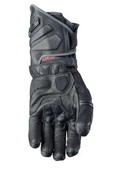 Resim Five Gloves GT2 WP Motosiklet Eldiveni Siyah