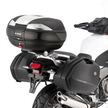 Resim Kappa Klxr1110 Honda Crosstourer 1200(12-15) Motosiklet Yan Çanta Taşıyıcı