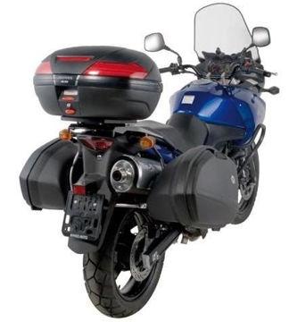Resim Kappa Klx528 Suzuki Dl 1000 V-strom(02-11) Kawasaki Klv 1000(04-10) Motosiklet Yan Çanta Taşıyıcı