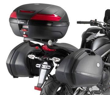 Resim Kappa Klx449 Kawasaki Er-6n - Er-6f 650(09-11) Motosiklet Yan Çanta Taşıyıcı