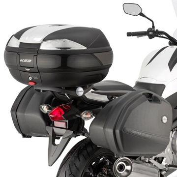 Resim Kappa Klx1111 Honda Nc 700 X-S Nc 750 X-S - Nc 750 X-S Dct(12-15) Motosiklet Yan Çanta Taşıyıcı