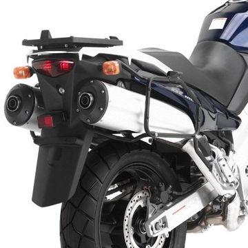Resim Kappa Kl528 Suzuki Dl 1000 V-Strom(02-11) Kawasaki Klv1000(04-10) Motosiklet Yan Çanta Taşıyıcı