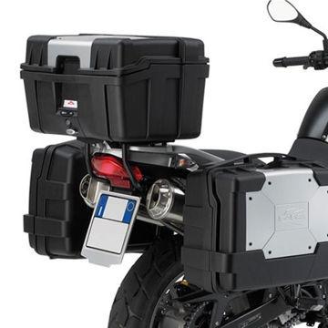 Resim Kappa Kl188 Bmw F650gs-G650gs-F650gs Dakar(00-15)Motosiklet Yan Çanta Taşıyıcı