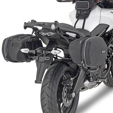 Resim Givi Te4114 Kawasakı Versys 650 (15) Motosiklet Yan Kumaş Çanta Taşıyıcı