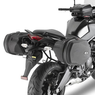 Resim Givi Te4103 Kawasakı Versys 650 (10-14) Motosiklet Yan Kumaş Çanta Taşıyıcı