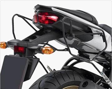 Resim Givi Te351 Yamaha Fz6 s2 - Fz6 600 Fazer s2 (07-11) Motosiklet Yan Kumaş Çanta Taşıyıcı