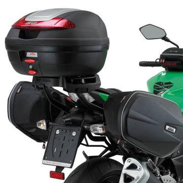 Resim Givi Te265 Kawasakı Z 750 (07-13) Motosiklet Yan Kumaş Çanta Taşıyıcı