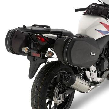 Resim Givi Te1119 Honda Cb 500f - Cbr 500r (13-15) Motosiklet Yan Kumaş Çanta Taşıyıcı
