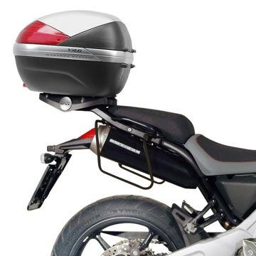 Resim Givi T129 Yamaha Mt-03 600 (06-14) Motosiklet Yan Kumaş Çanta Taşıyıcı