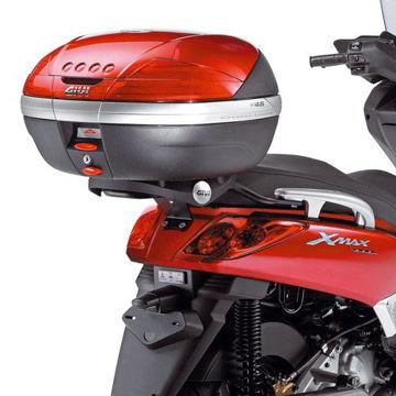 Resim Givi Sr355 Yamaha X-max 125-250 (05-09) Motosiklet Arka Çanta Taşıyıcı