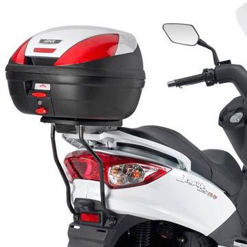 Resim Givi Sr233m Sym Joyride Evo 125-200 (09-15) Motosiklet Arka Çanta Taşıyıcı