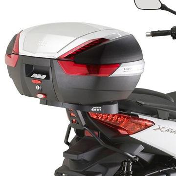 Resim Givi Sr2117 Yamaha X-max 125-250 (14-15) Motosiklet Arka Çanta Taşıyıcı