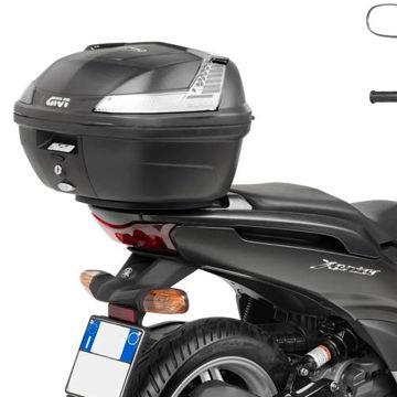 Resim Givi Sr2102 Yamaha Xenter 125-150 (12-15) Motosiklet Arka Çanta Taşıyıcı