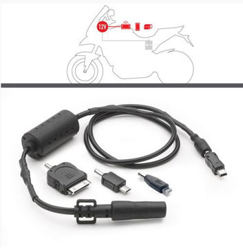 Resim Givi S112 Motosiklet Güç Soketi (Telefon)