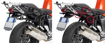Resim Givi Plxr691 Bmw K 1200r (05-08) - K 1300r (09-15) Motosiklet Yan Çanta Taşıyıcı