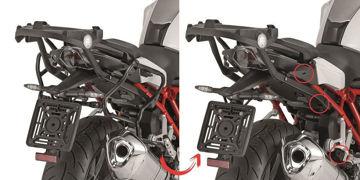 Resim Givi Plxr5117 Bmw R1200r (15) Motosiklet Yan Çanta Taşıyıcı
