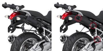 Resim Givi Plxr5100 Bmw R 1200r (11-14) Motosiklet Yan Çanta Taşıyıcı
