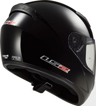 Resim LS2 FF352 Siyah Motosiklet Kaskı