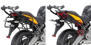 Resim Givi Plxr450 Kawasaki Versys 650 (10-14) Motosiklet Yan Çanta Taşıyıcı